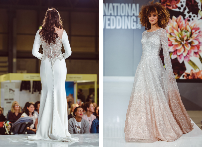 national wedding show bridal catwalk