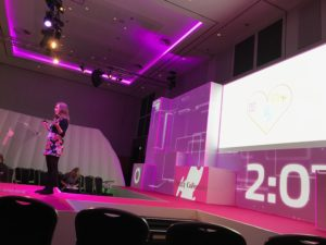 Our pitch on stage at Retail Week Live 2017