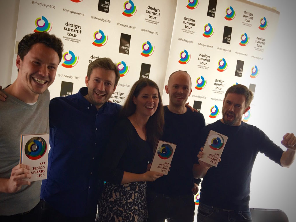 App Design Award - Team Virgin Media and Ocasta!