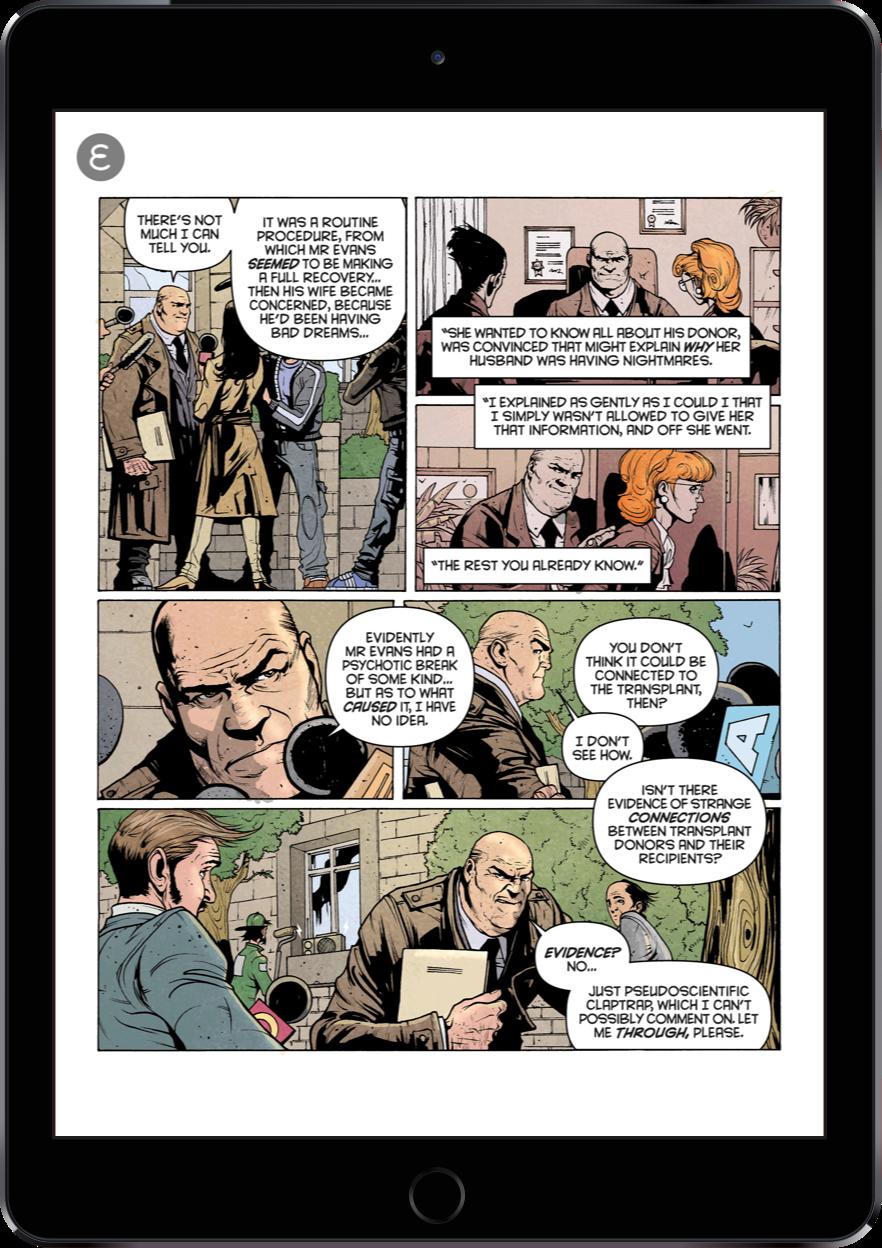 Electricomics | The Digital Comic Reader App | Ocasta
