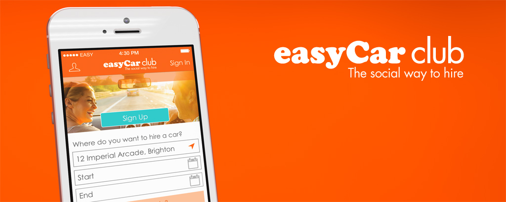 easyCar Club iPhone App Developed by Ocasta Studios