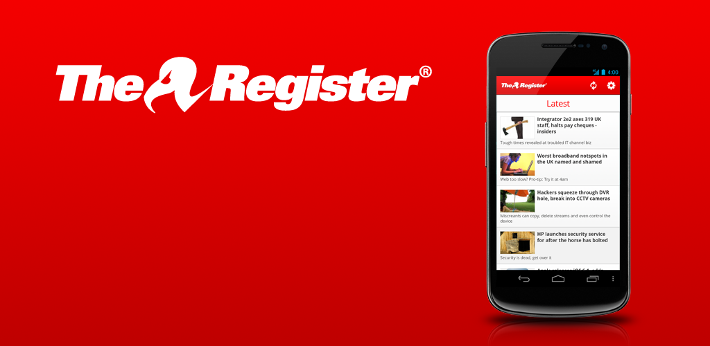 The Register on Android
