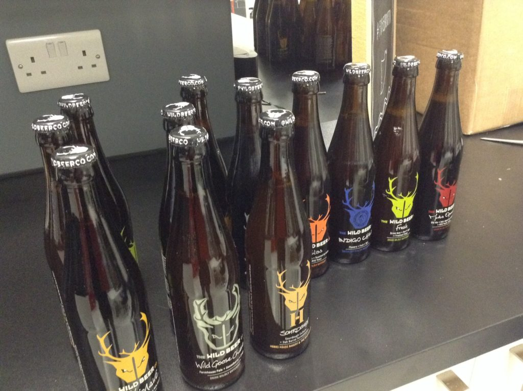 Wild Beer Company Drinks Sponsored by Ocasta