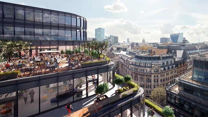 BROADGATE - Building 1FA - 2 Finsbury Avenue, EC2 - Liverpool Street