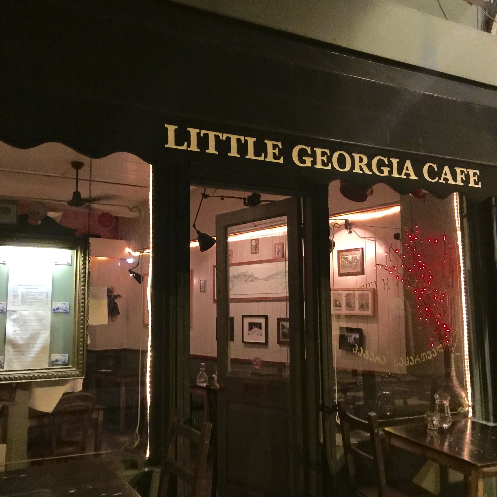 Little Georgia Cafe外観