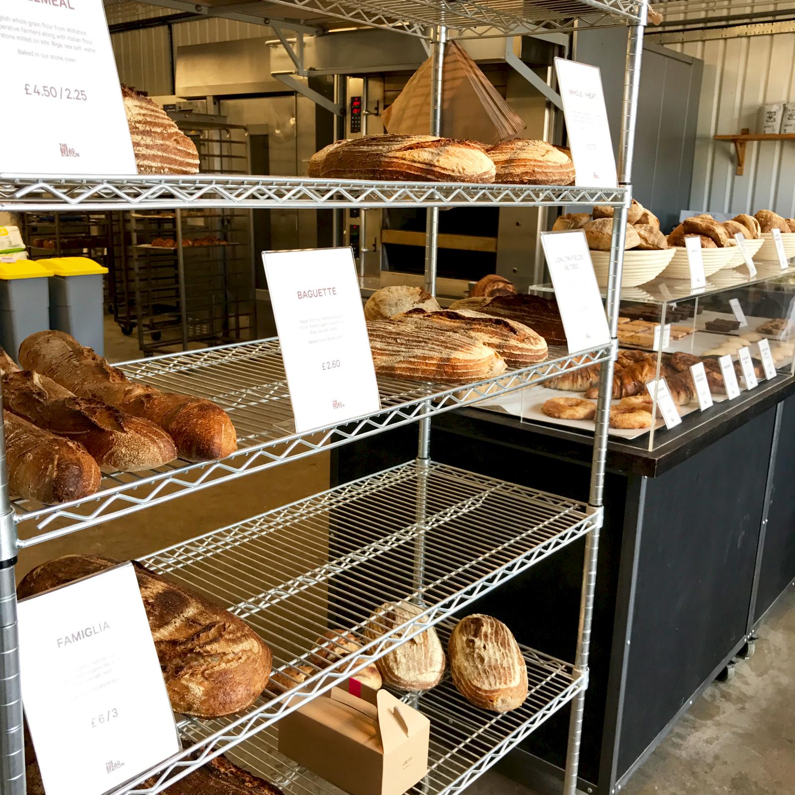 The Bread Station内観