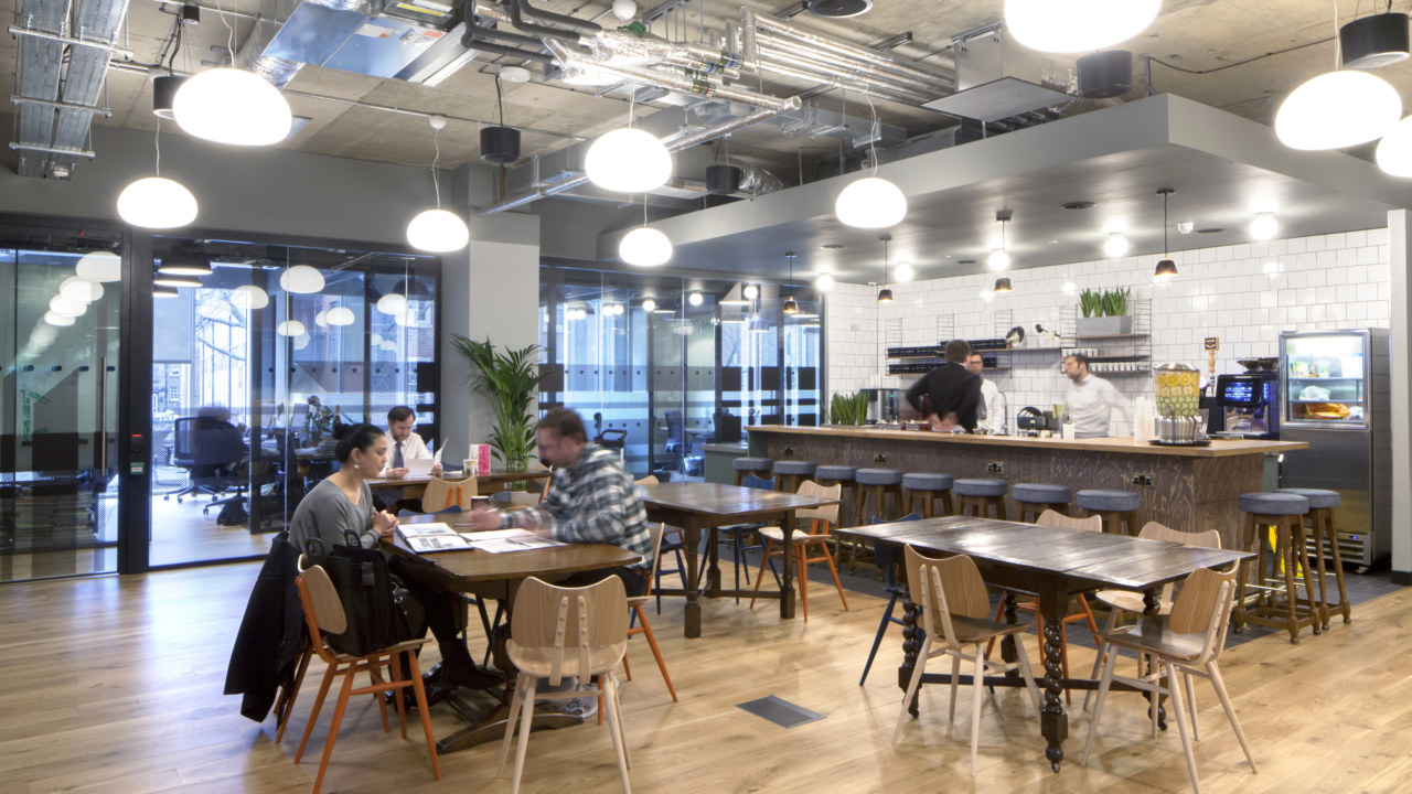 coworking design at Wework-Chancery-Lane-