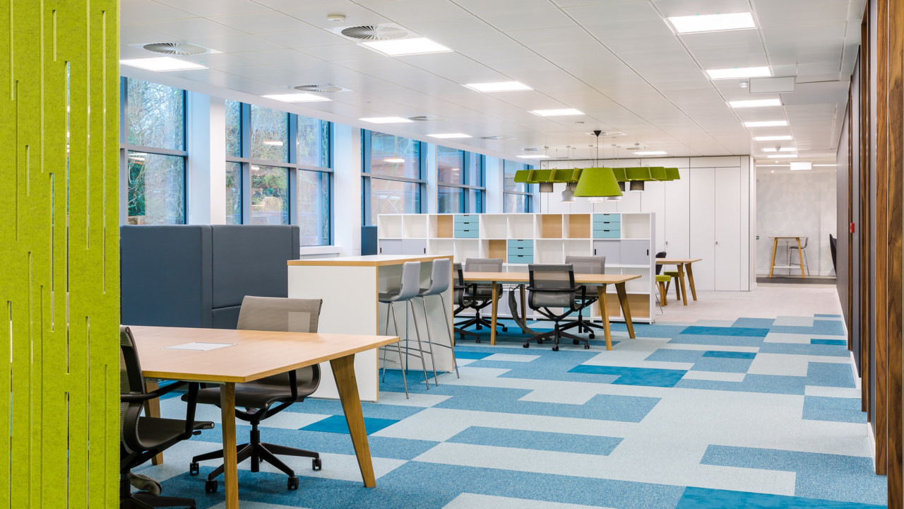 Office design and fit out for Zebra