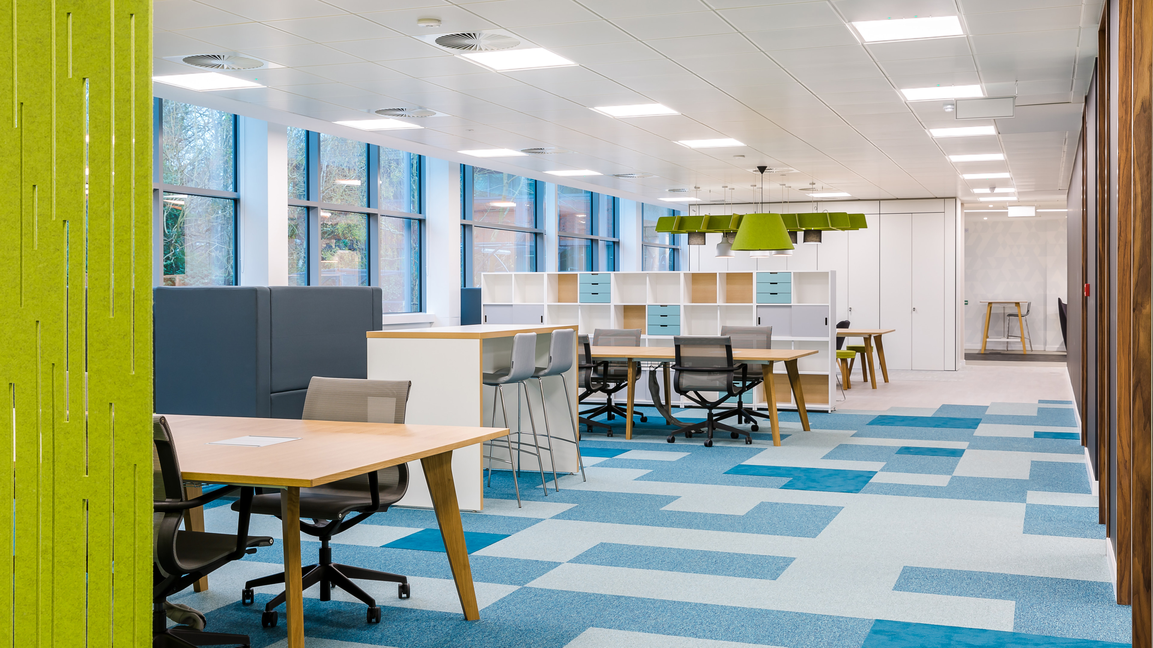 Zebra Technologies Office Design - Case Study | Oktra