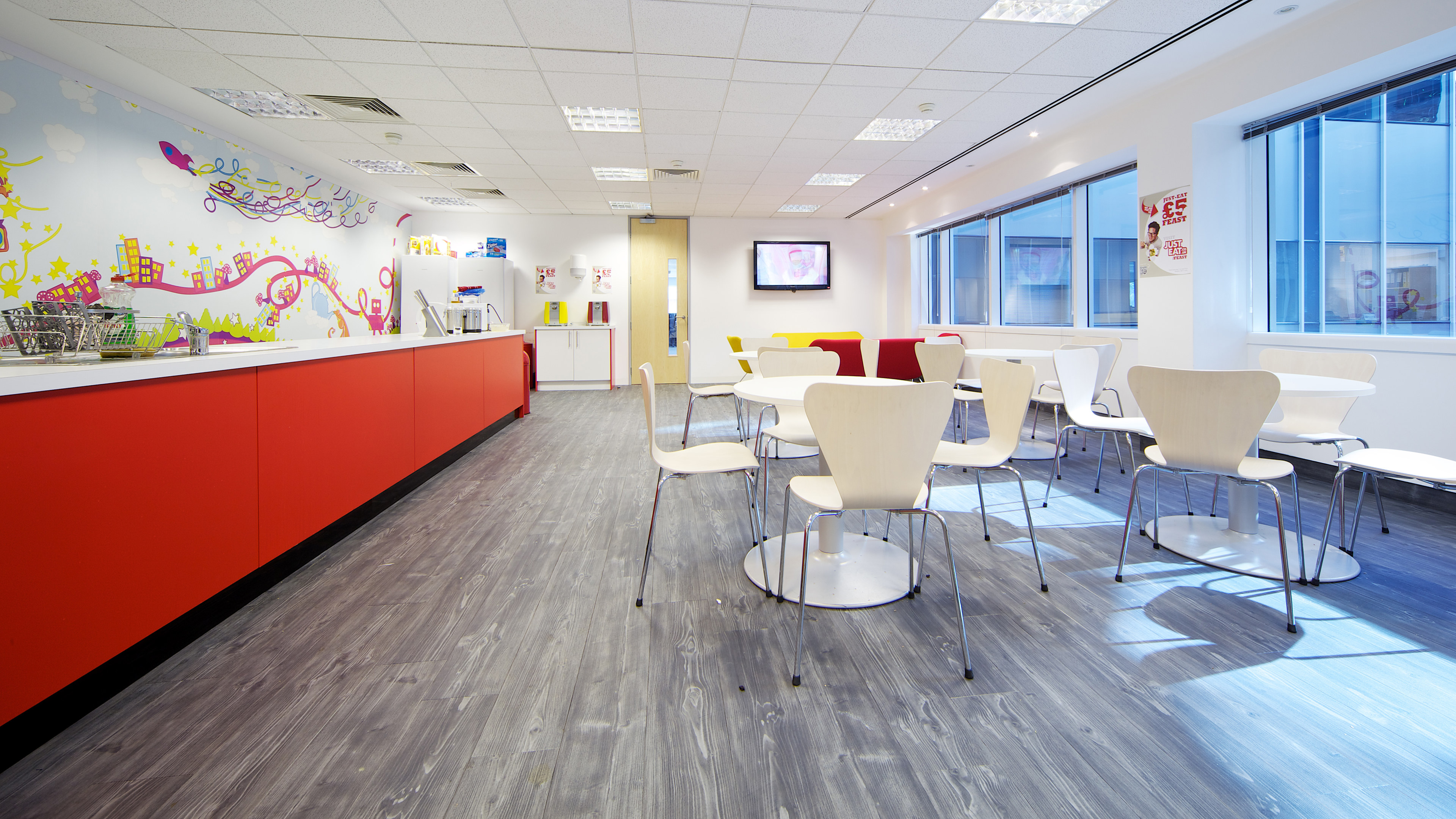 Just Eat Office Design Fit Out Oktra