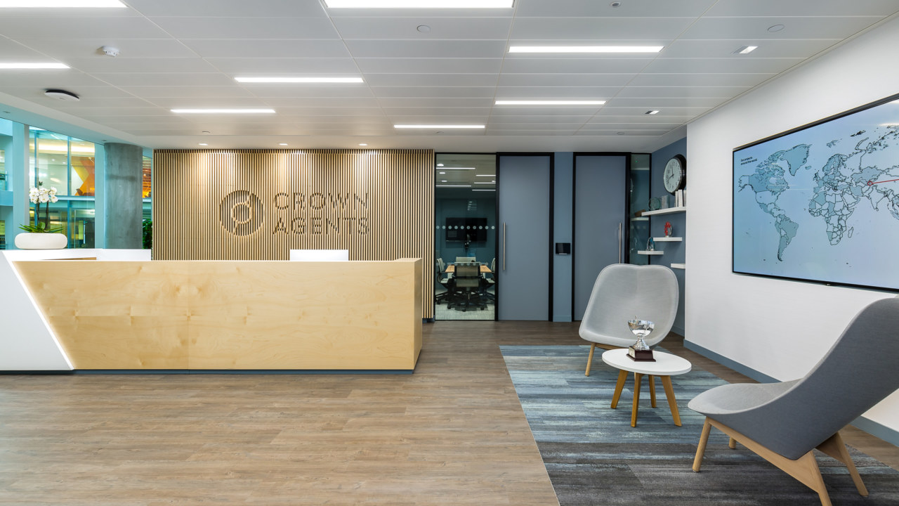 Office design and build for Crown Agents