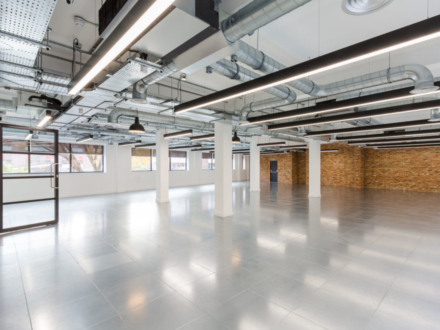 Cat A commercial refurbishment and fit out at 2 Baltic Lane