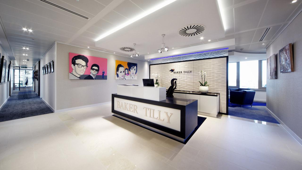 office design for baker tilly in guildford