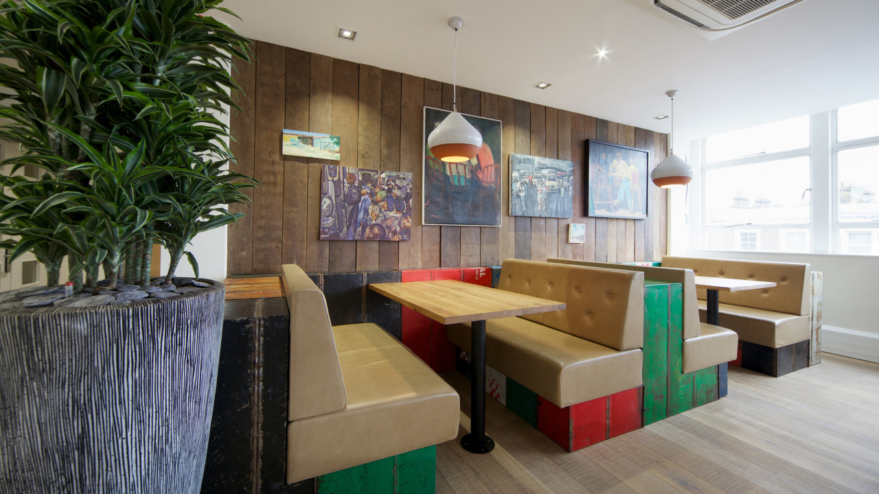 office design and fit out for Nandos
