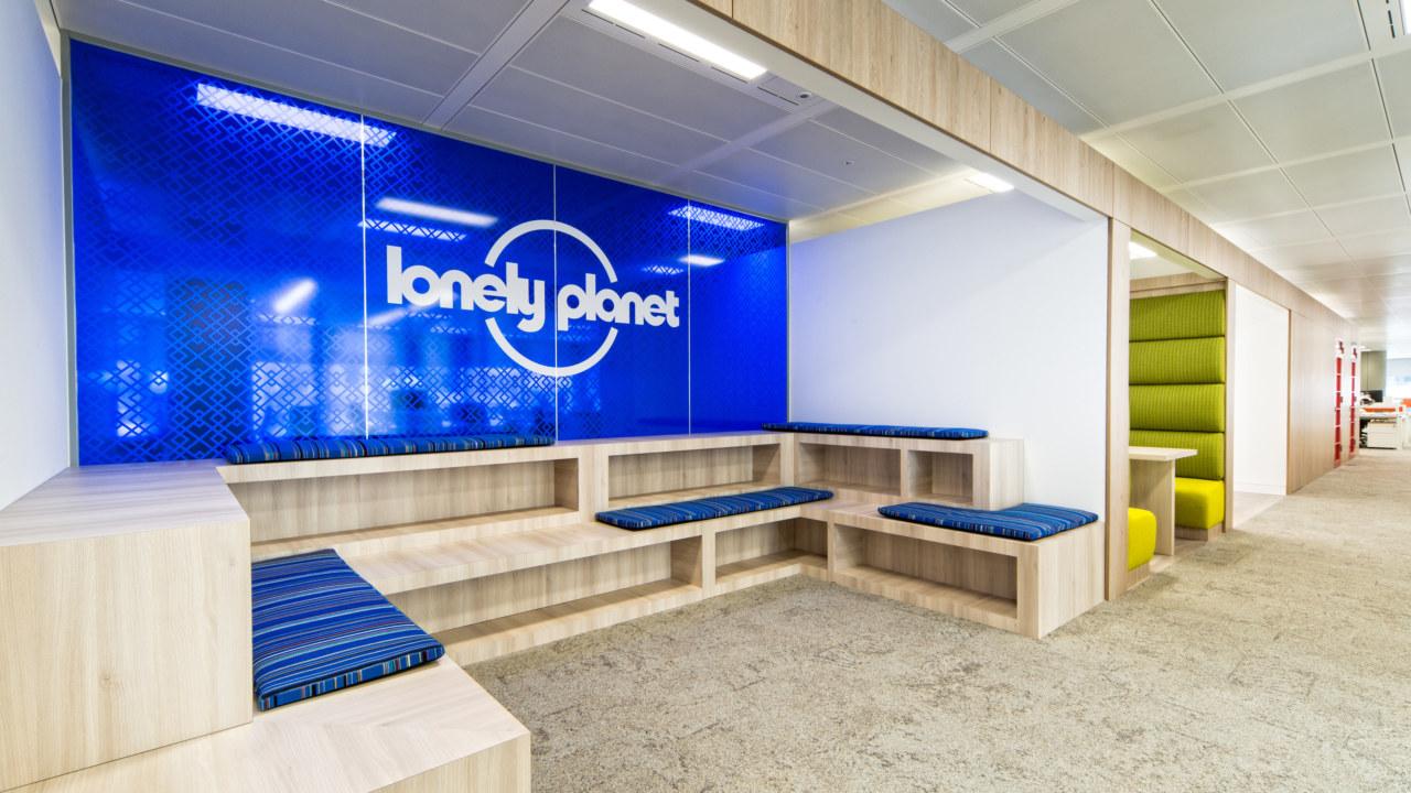 office design for lonley planet