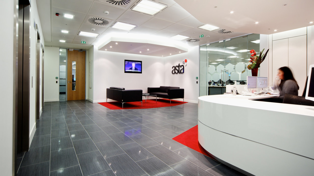 office fit out for ASTA