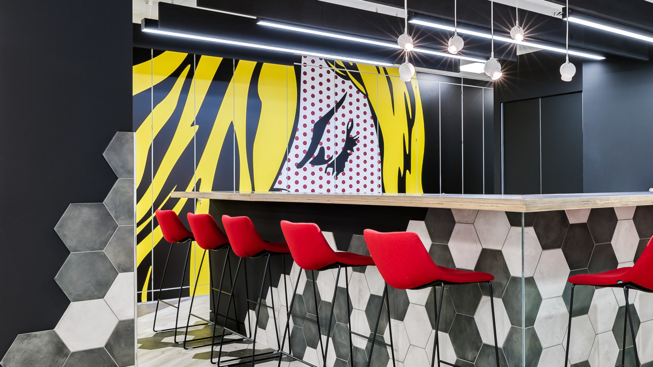 Office design and build for Rakuten