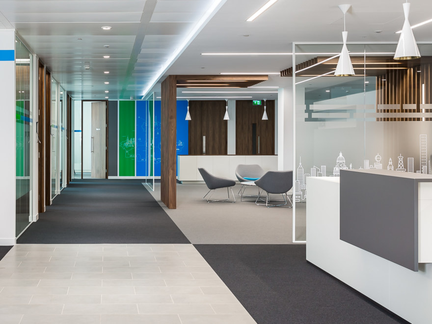 Office design for financial firm RSM in Leeds