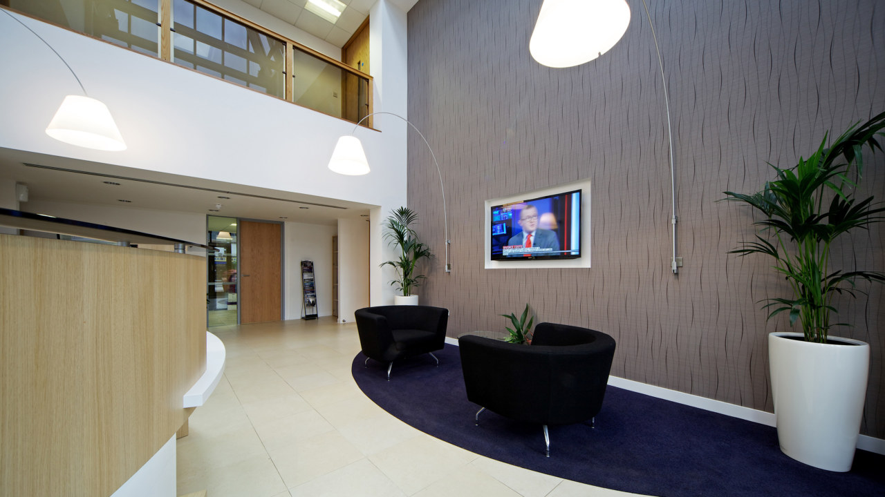 office fit out for IHS-Coulsden