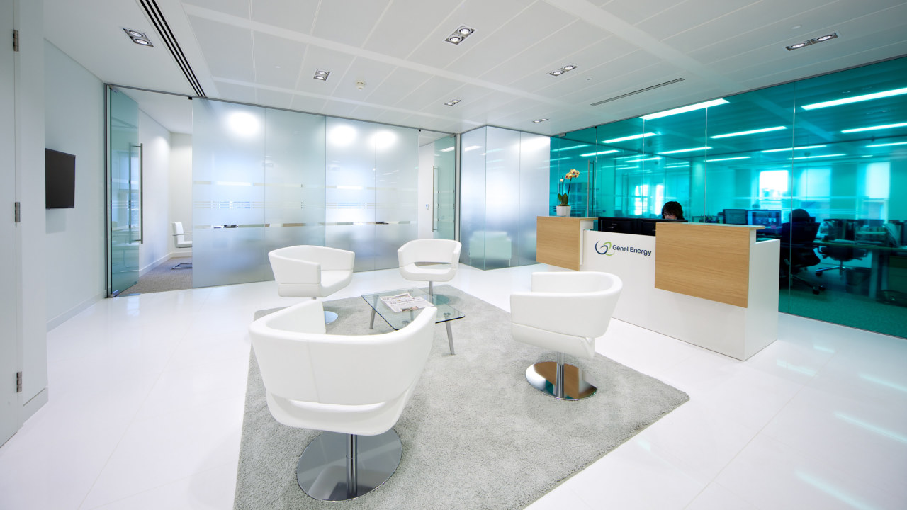office design and build for genel energy