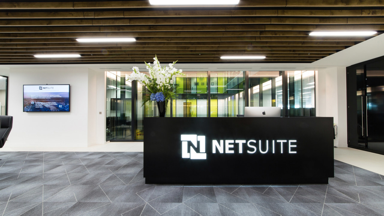 Reception design for Netsuite