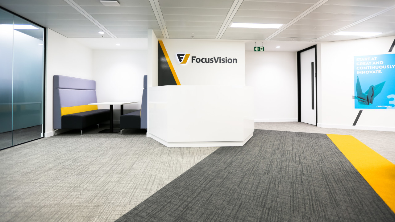 Office design for Focus Vision