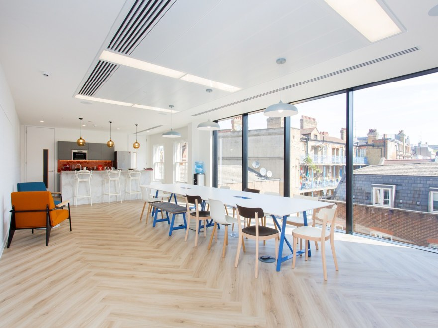 Office teapoint design for Woodsford Consulting
