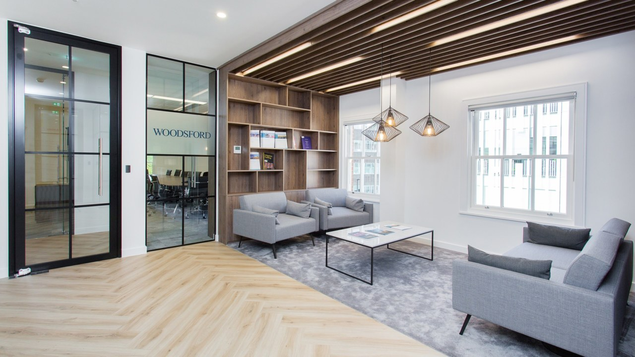 Office relocation and design for Woodsford Consulting