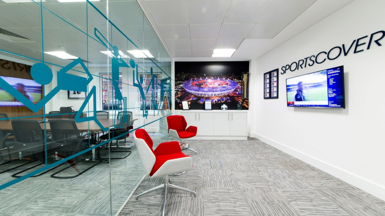 office design and fit out for Sports_Cover