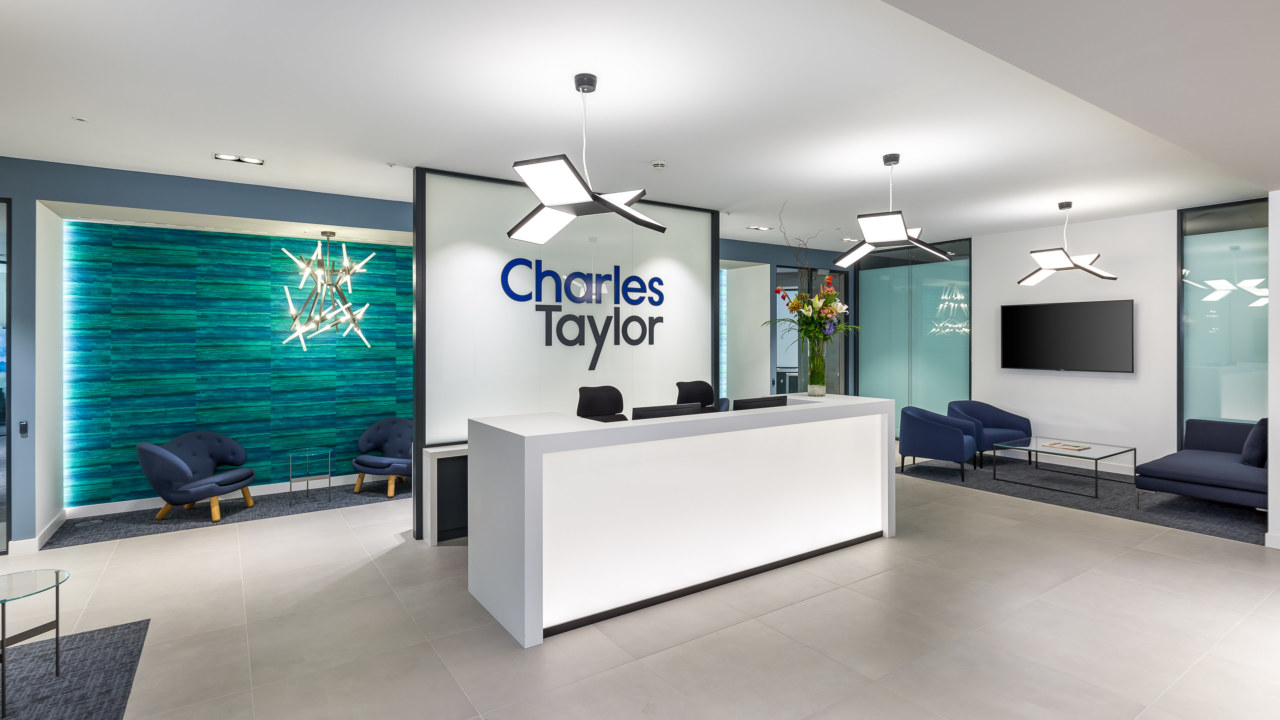 Reception design for Charles Taylor