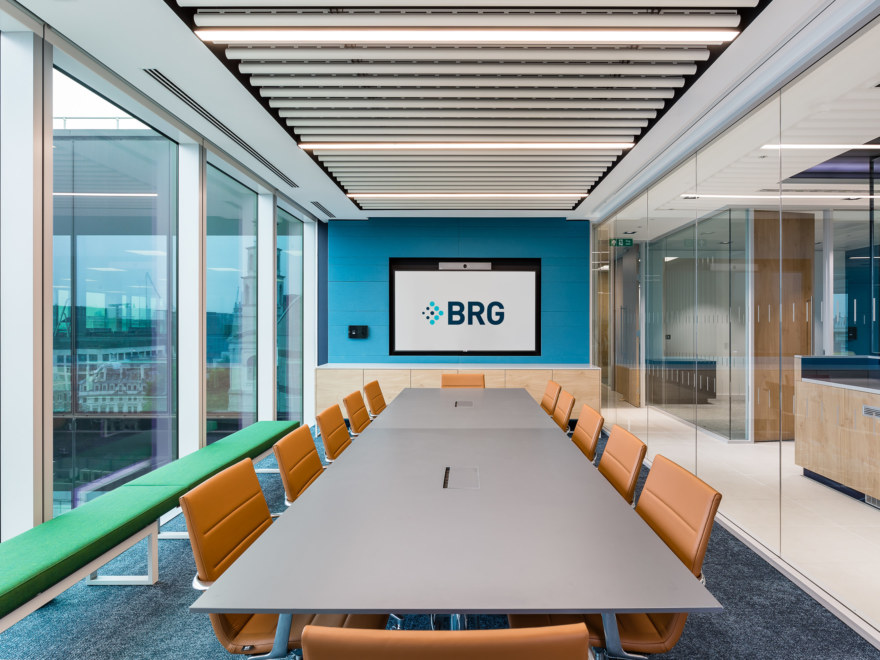 Boardroom office fit out for BRG Salisbury