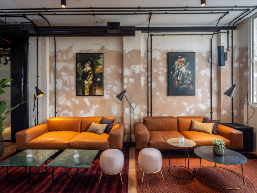 Coworking design for The Ministry