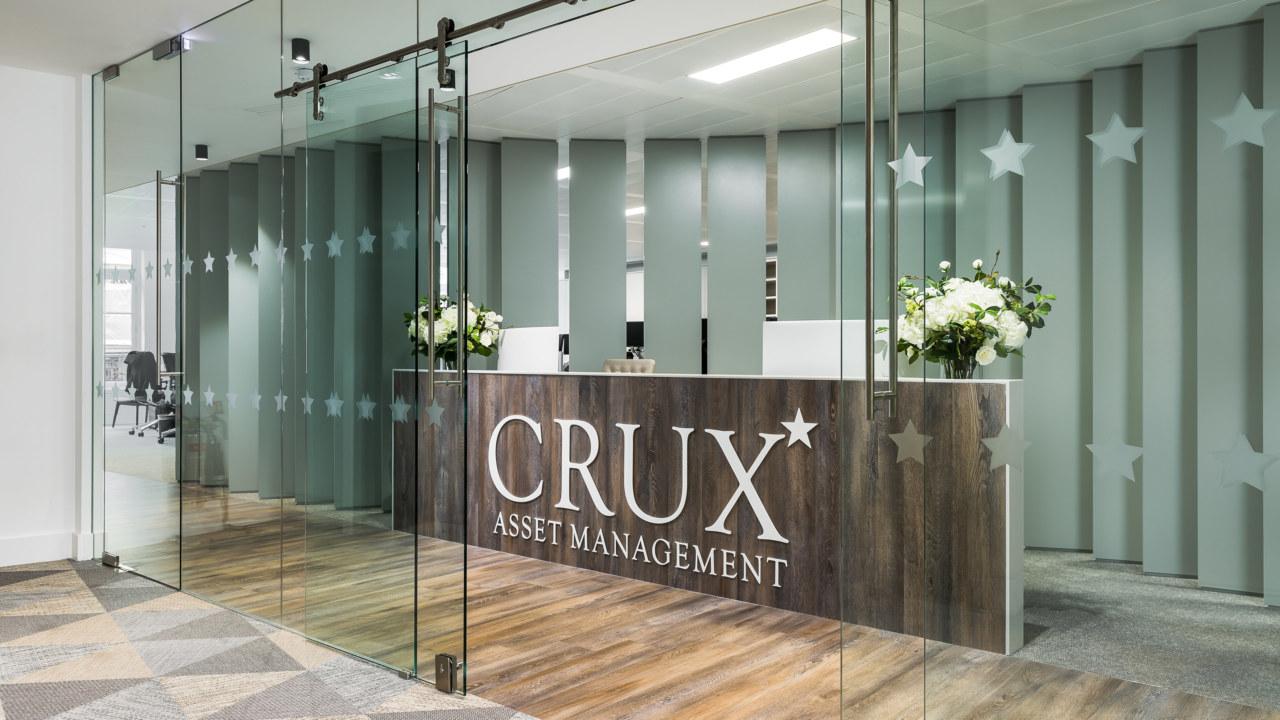 CRUX-Asset-Management reception-design