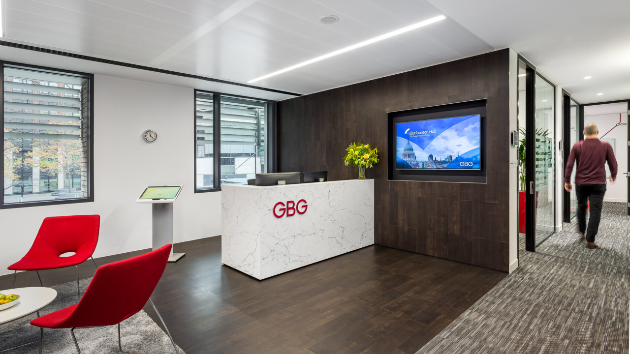 Office Reception Design for GBG