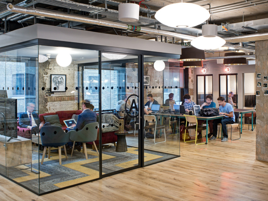 Offer a variety of workspaces