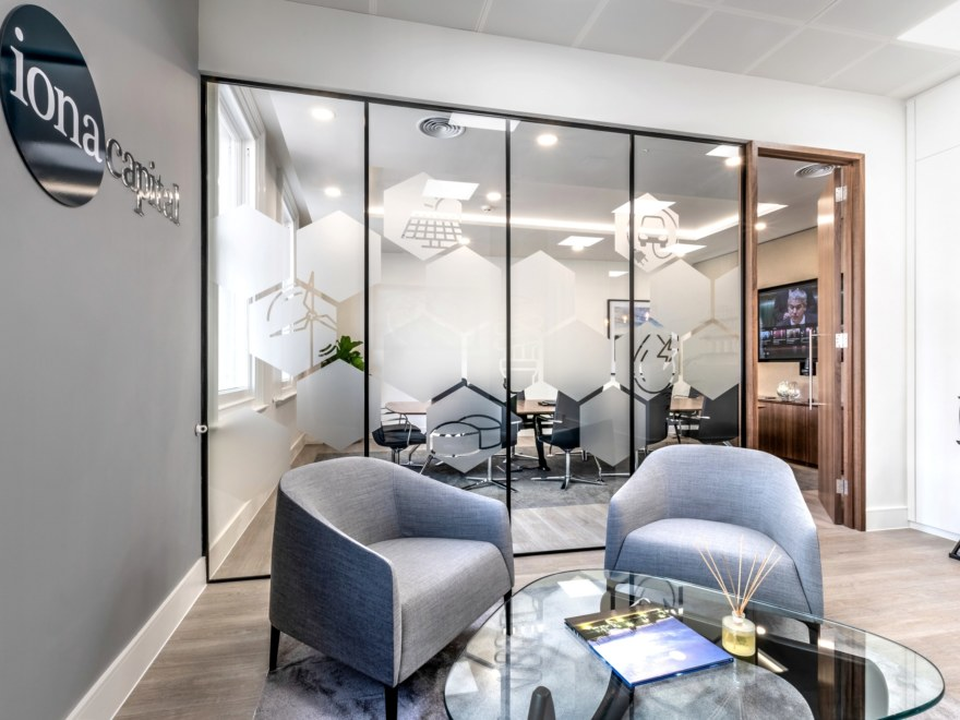 Office design for Iona Capital