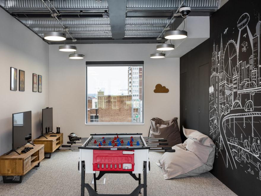 Breakout area design for Bosch
