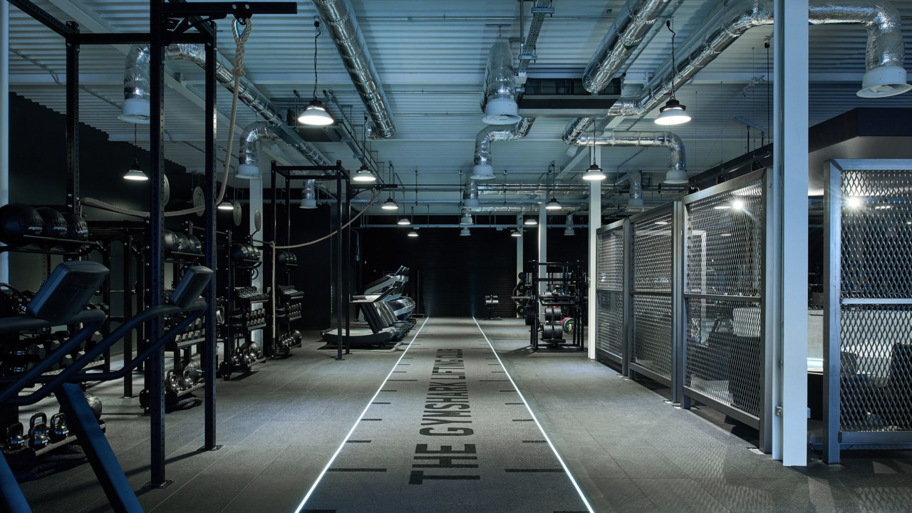 Gymshark Lifting Club running track