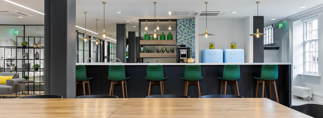 Teapoint design for Halma's offices