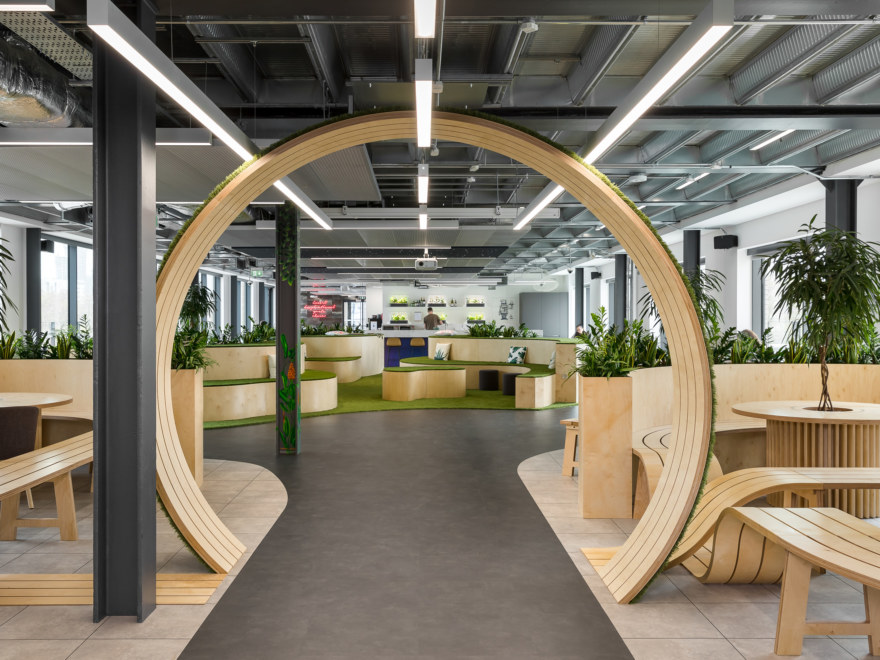 A sustainable office design