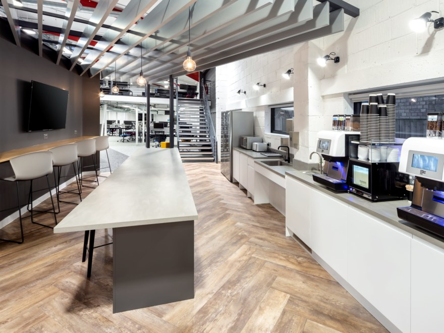 Office kitchen design for Utilize