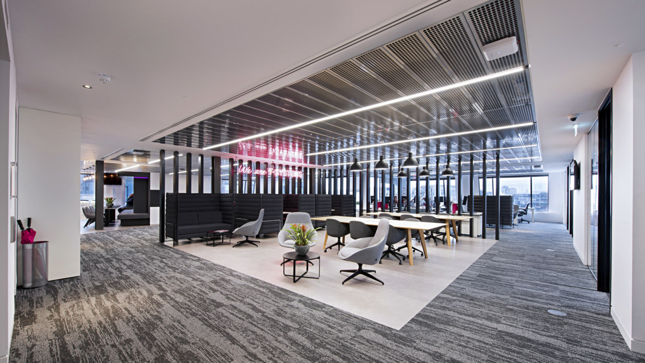 Office design for T Systems by Oktra