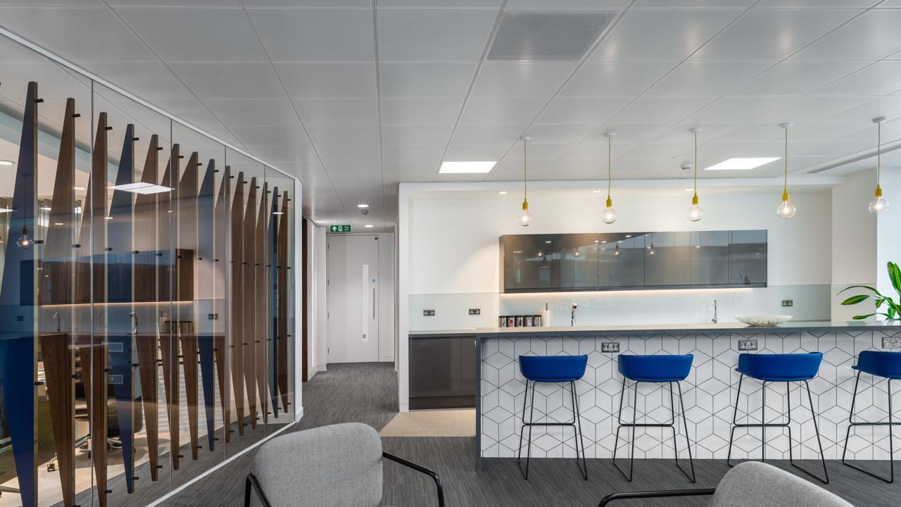 Workplace design for Orega-Uxbridge