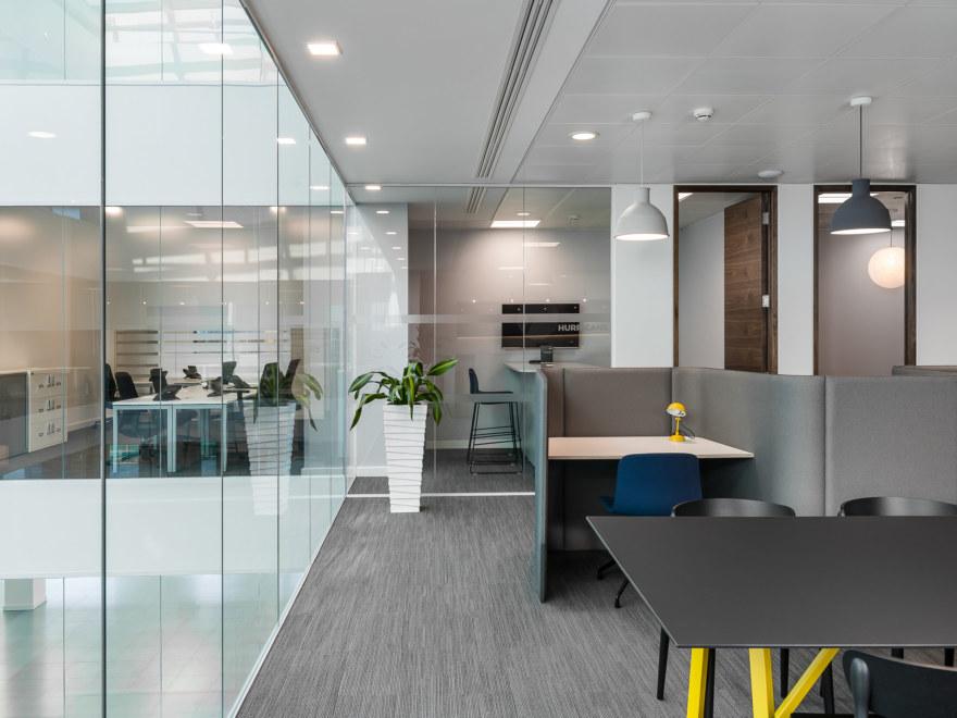 agile workplace design for Orega-Uxbridge