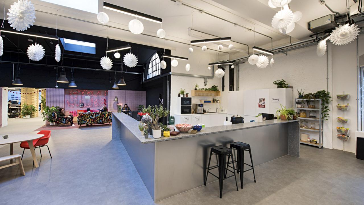 Office design for Depop