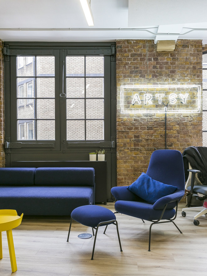 Internal branding in office design