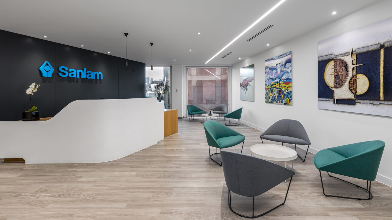 Office refurbishment for Sanlam