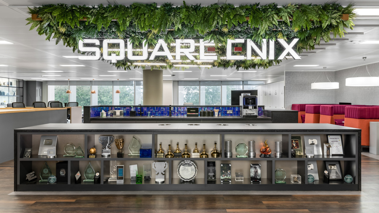 Office design and build for square enix