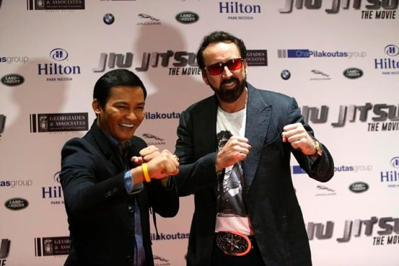 Jiu Jitsu' producer says Nicholas Cage film 'make-or-break' for  CyprusParikiaki | Parikiaki Cyprus and Cypriot News