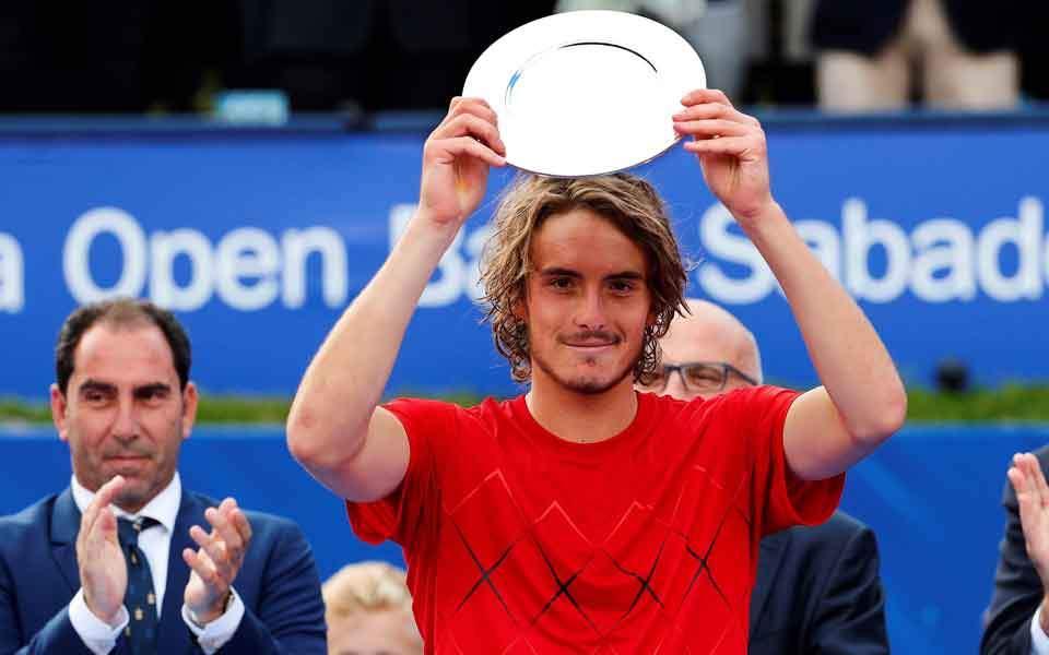 19 Year Old Greek Tennis Ace Tsitsipas Set For Rankings Leap Despite Loss In Barcelona Final Against Nadalparikiaki Parikiaki Cyprus And Cypriot News